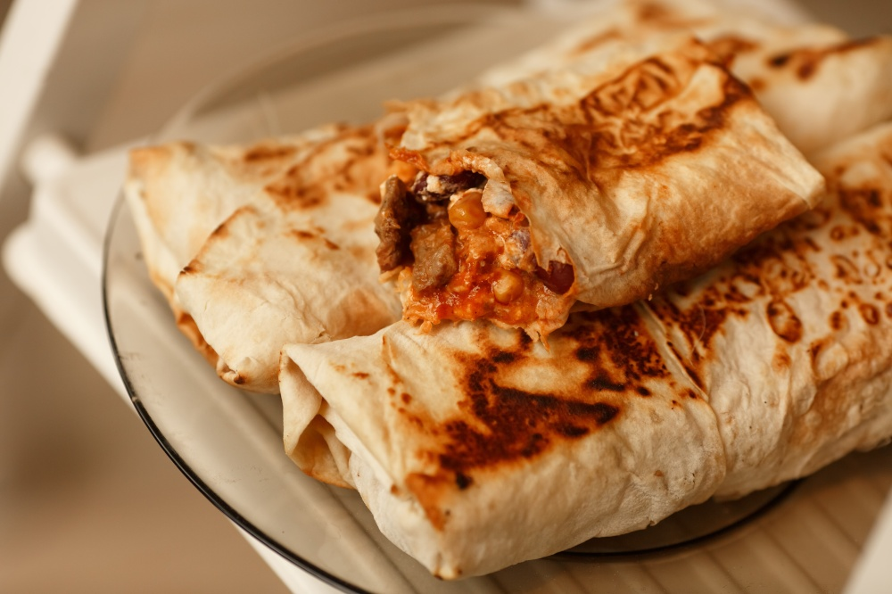 Burrito mexican fast food burritos meat