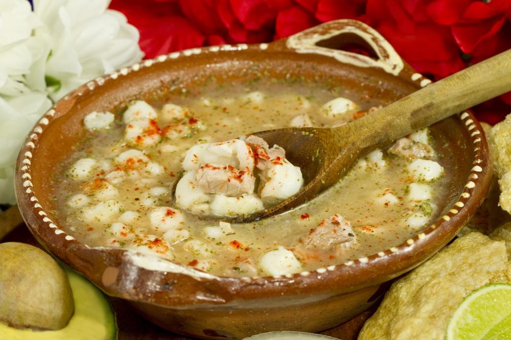 Mexican Pozole Dish